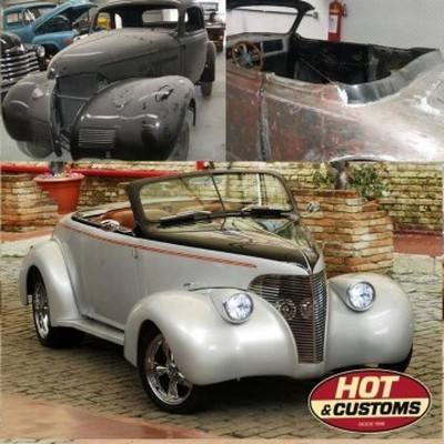 Customização Carro Antigo Valor Pirituba - Customização para Carros Antigos Hot Rods