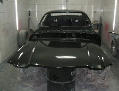 Pintura de Carro Antigo Muscles Cars Preço Água Branca - Pintura de Carro Antigo Muscles Cars