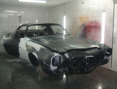 Pintura para Carro Antigo Muscles Cars Vargem Grande Paulista - Pintura de Carro Antigo Muscles Cars