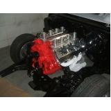 customização para carro antigo com motor v8