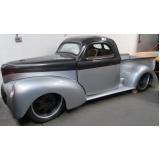 customização para carros antigos hot rods