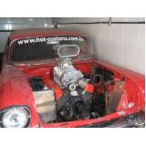 customização para carro antigo com motor v8 preço Santana