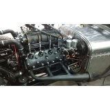 customização para carro antigo com motor v8 Vila Leopoldina