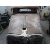 funilaria de alto padrão para carros antigos Bela Vista