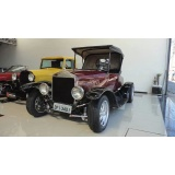 onde encontrar customização de carros antigos ford Parque Peruche