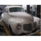 onde encontrar restauração de carros antigos Vila Leopoldina