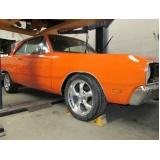 onde encontro restauração de carro antigo muscle cars Jardim América