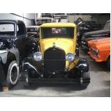 reforma e pintura de carros antigos