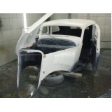 restauração de carro em fibra Chora Menino