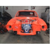 restauração de carro maverick Santana
