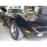 restauração de carros antigos muscle cars Parque São Domingos
