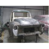 restauração de carros antigos para colecionadores preço Interlagos
